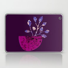 pot and branch on purple Laptop & iPad Skin