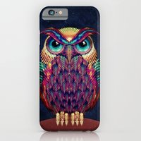 owl iPhone & iPod Cases featuring OWL 2 by Ali GULEC