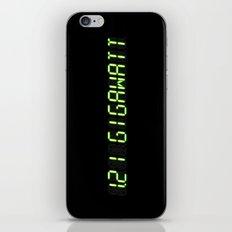 1.21 Gigawatt - Back to the future iPhone & iPod Skin