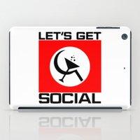 Let's Get Social iPad Case