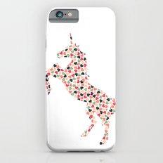 Multi Heart Unicorn iPhone 6 Slim Case