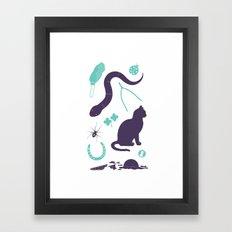 Good Luck / Bad Luck Framed Art Print