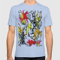 Dragons Mens Fitted Tee Athletic Blue SMALL