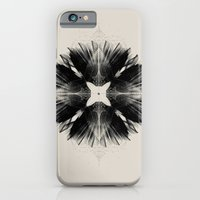 Black Flower iPhone 6 Slim Case