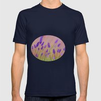 Lavenders  Mens Fitted Tee Navy SMALL