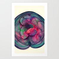 Phantom Streak Nebula Art Print