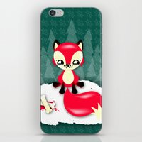 Fox's Christmas Dinner iPhone & iPod Skin