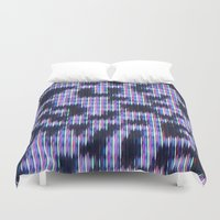 Painted Attenuation 1.3.… Duvet Cover