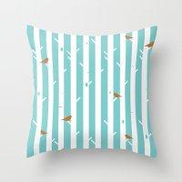 Bird Sanctuary Throw Pillow