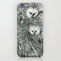 owls iPhone & iPod Cases featuring Owls by Irina Vinnik