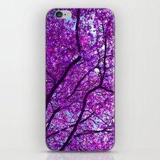 purple tree XXXI iPhone & iPod Skin