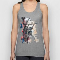 seehorse by carographic Unisex Tank Top