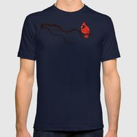 Cardinal Mens Fitted Tee Navy SMALL