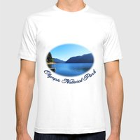 Landscape Photo, Olympic… Mens Fitted Tee White SMALL