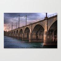 Color me bridge Canvas Print
