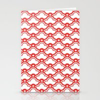 Matsukata In Poppy Red Stationery Cards