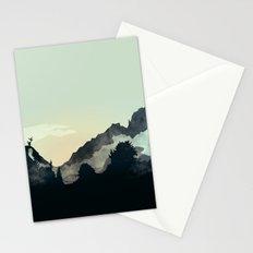 Misty Mountain Stationery Cards
