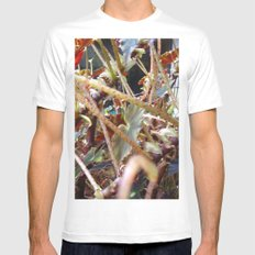 Dragon Fight    [PLANTS]   [VINES] SMALL White Mens Fitted Tee