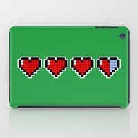Pixel Hearts iPad Case