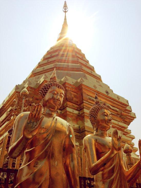 Blessed Buddha Art Print