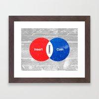 Vend Diagram Framed Art Print