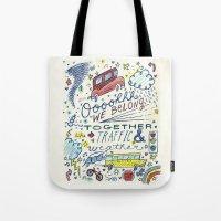 Traffic & Weather Tote Bag