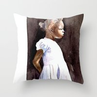 lontano  Throw Pillow