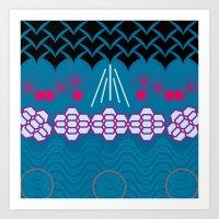 HARMONY pattern Alt 1 Art Print
