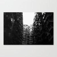 :: Hong Kong Flats :: Canvas Print