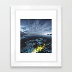Lagoon of Light Framed Art Print
