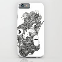 iPhone & iPod Case featuring Little buddies by lisk