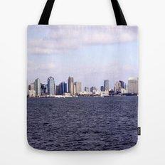 Good Morning San Diego  Tote Bag