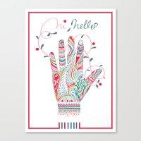 Hi Helllo Canvas Print