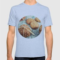 Cookies Mens Fitted Tee Athletic Blue SMALL