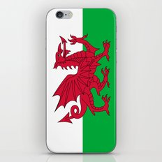 National flag of Wales - Authentic version iPhone & iPod Skin