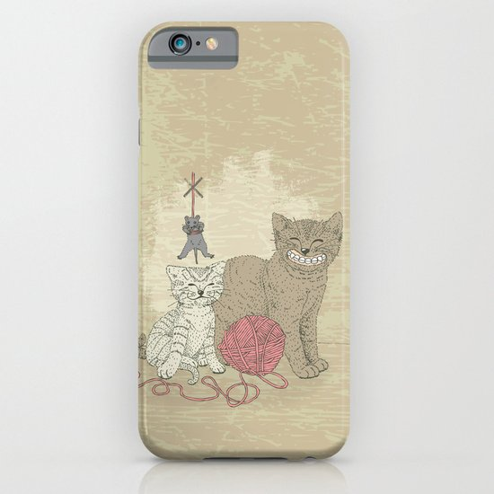 Naughty Cats iPhone & iPod Case