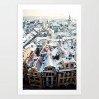 Praha Horizons Art Print