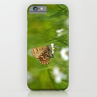 iPhone Cases featuring Butterfly VIII by Christina Rollo