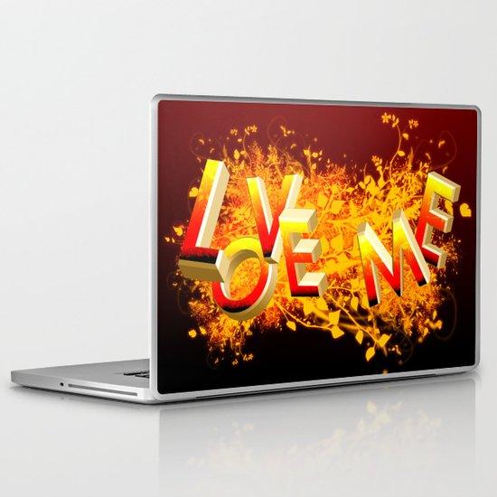 Love me! Laptop & iPad Skin