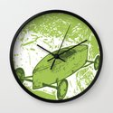 down at the derby  Wall Clock