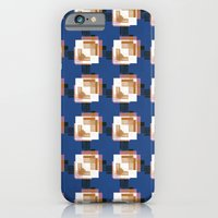 iPhone Cases featuring Outside the box by lalaprints