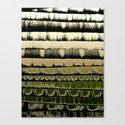 Tissue - Golden Canvas Print
