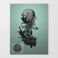 The Raindrops Canvas Print
