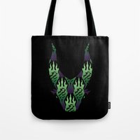 SCORCH Pattern ~ Malefic… Tote Bag
