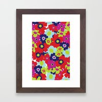 LA Garden - By Sew Moni Framed Art Print