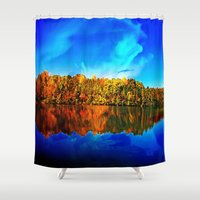 Falls' Lost Memories Shower Curtain