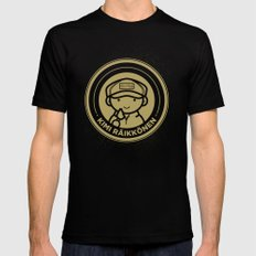 Chibi Kimi Raikkonen - Lotus F1 Team Mens Fitted Tee Black SMALL