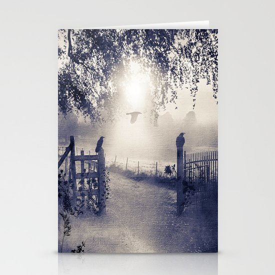 untitled  (colour option) Stationery Card