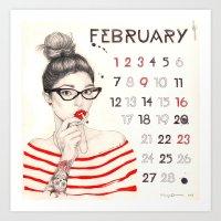 February Art Print