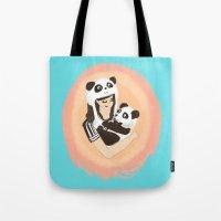 Panda & Jess Tote Bag